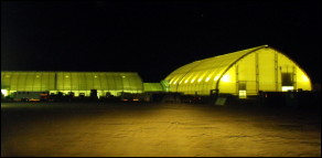 Introduced to the exhibition grounds in the summer of 2006, the MegaDome is a fabric covered arena that is 130' x 230', a suitable venue for a variety of shows, and home to the Alberta BMX Racers during the winter months.